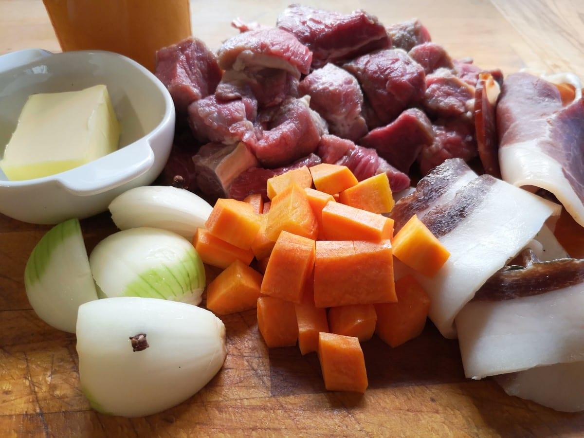 Sugo di carne ricetta. Ingredienti per il sugo di carne