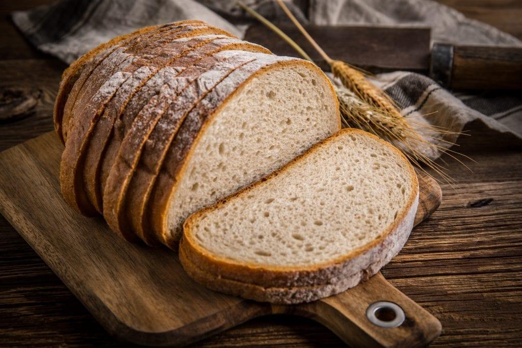 Pane tagliato a fette