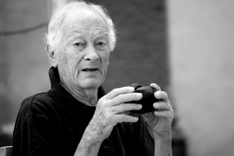 Alex Pololinsky in foto in bianco e nero di Lido Vannucchi
