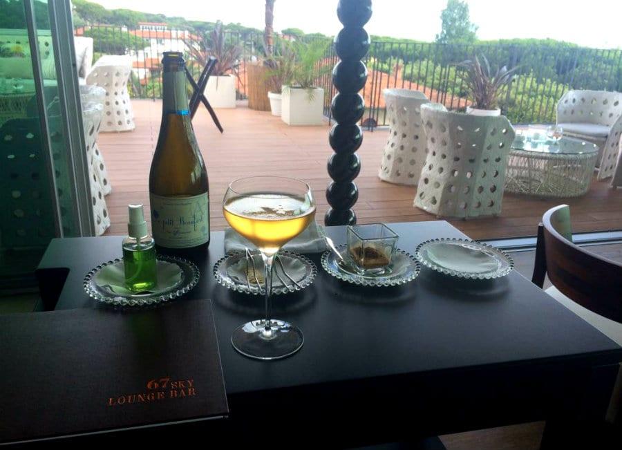aperilux. Il cocktail creato da Sokol Ndreko, maître del Lux Lucis