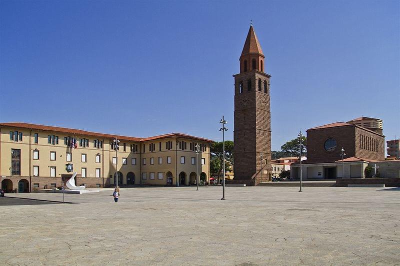 Piazza Roma, Carbonia