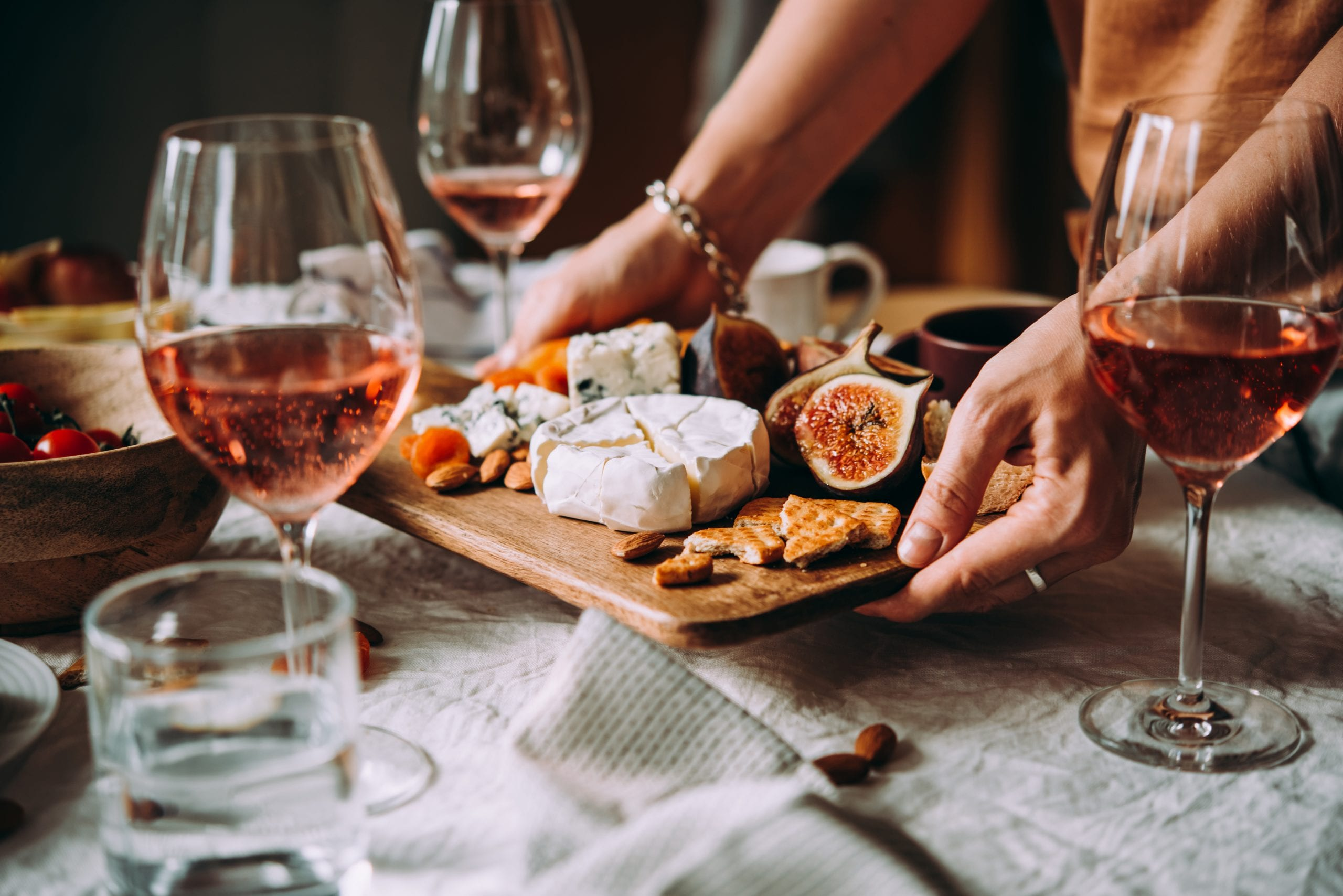 Food and wine experience design