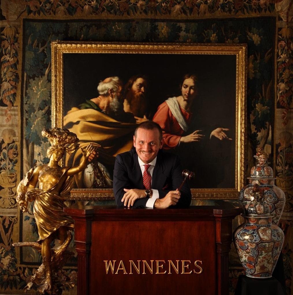 Guido Wannenes della casa d'aste Wannenes