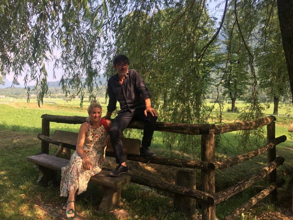 Ana Ros e Valter Kramar