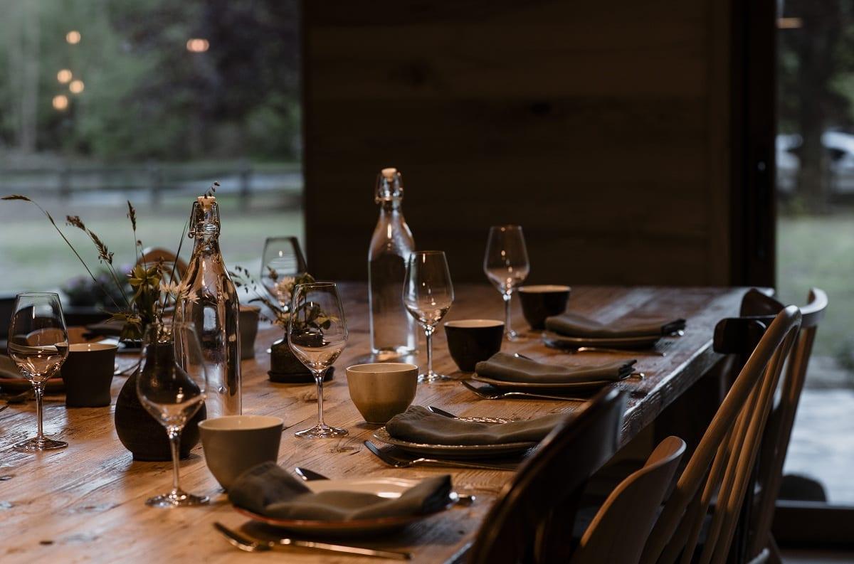 La tavola apparecchiata da Rantan