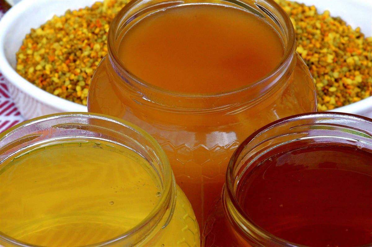 gelato ingredienti - miele
