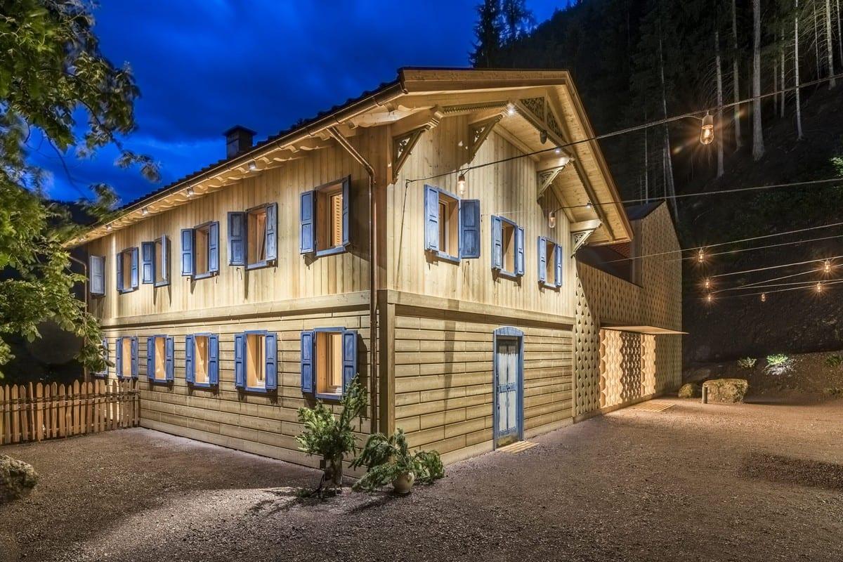 Val Sarentino La Fuga fienile_accademia di cucina_bad schorgau