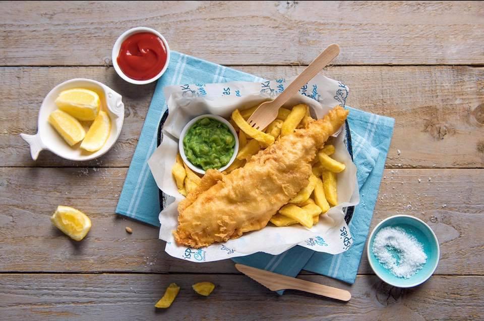Fish and Chips di Krispies, numero uno del Regno Unito