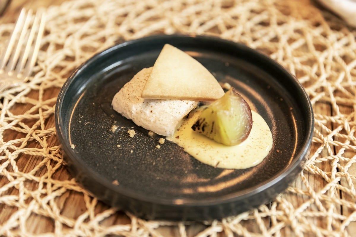 Val Sarentino La Fuga - il dessert pesche e latte crudo