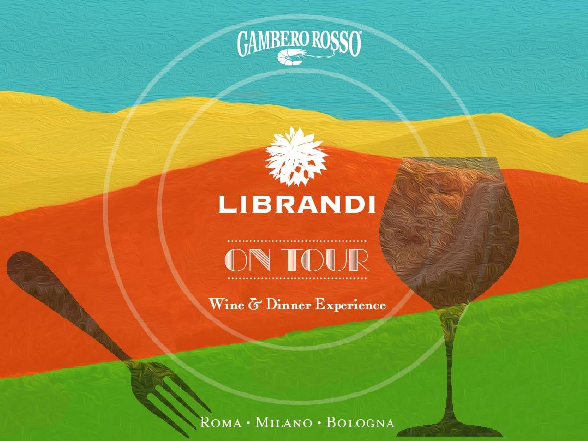 La locandina dell'evento Librandi on tour
