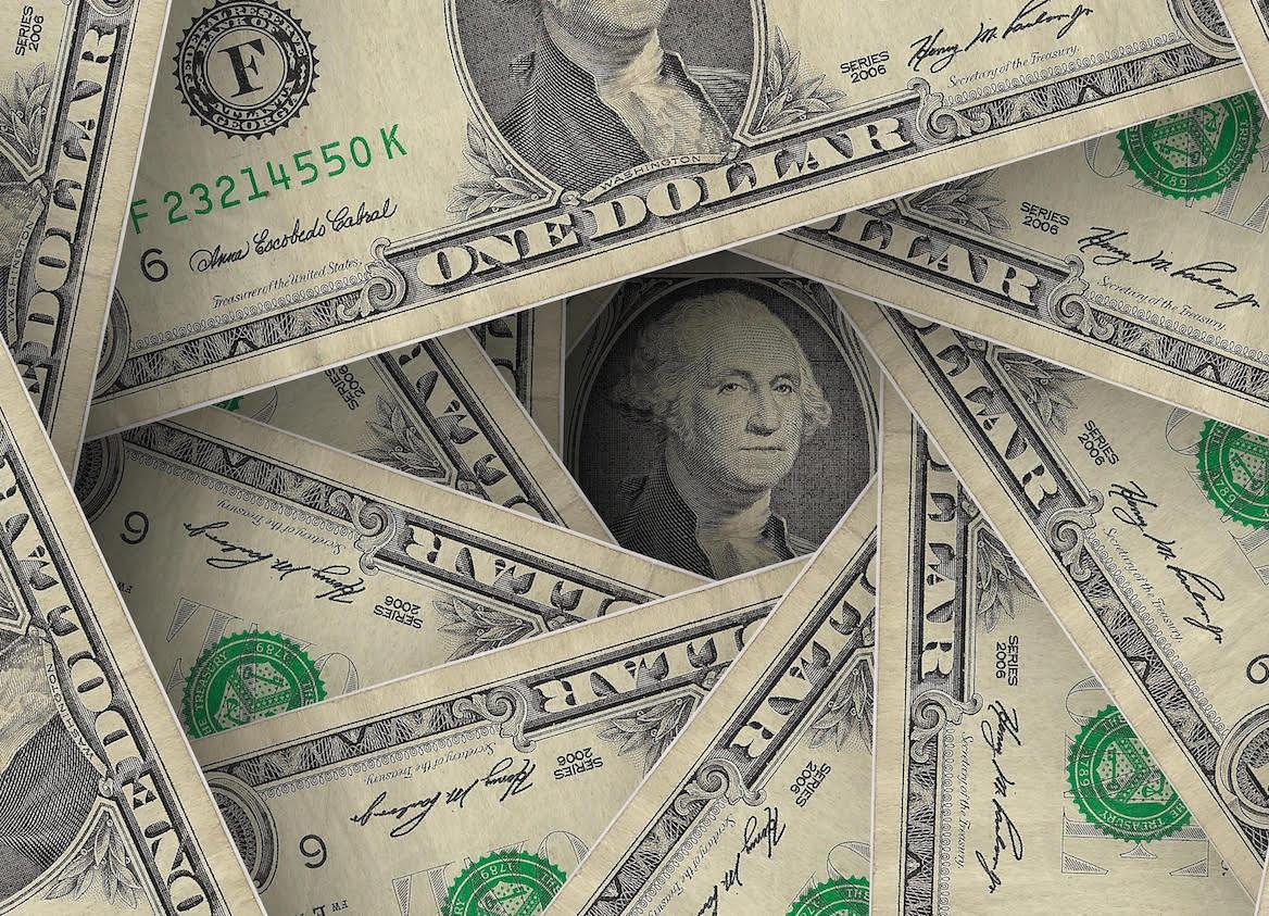 Banconote da un dollaro americano