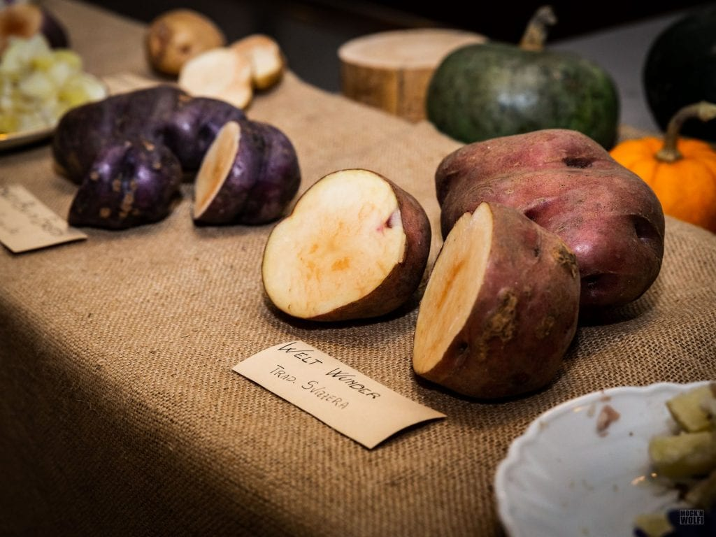 Patate in assaggio da Manna Organic