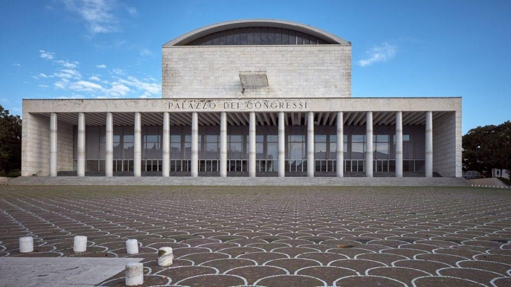 Il Palazzo dei Congressi di Roma
