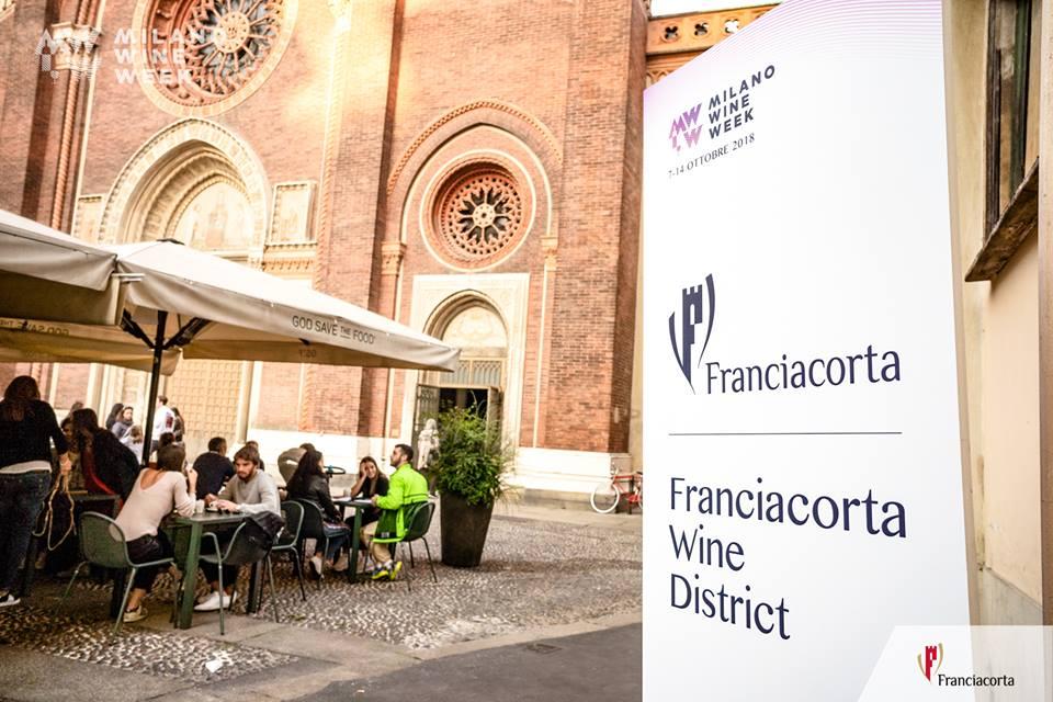 Il distretto del Franciacorta a Milano