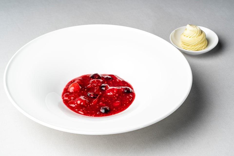 Ricette con il pomodoro di Andrea Leali di Casa Lealidi Casa Leali: zuppetta