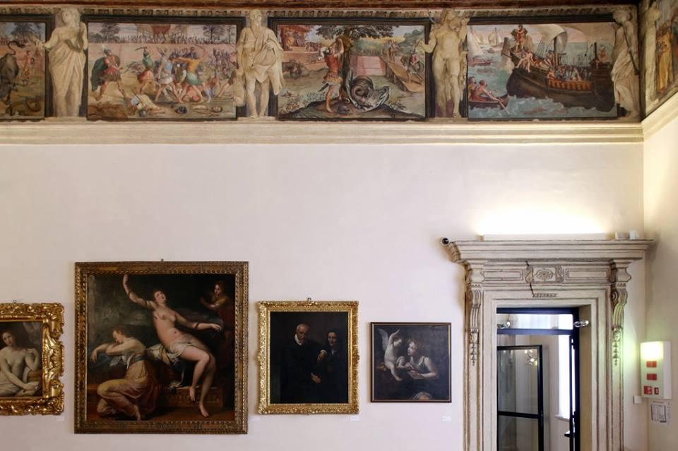 Le sale storiche di Palazzo Fava a Bologna