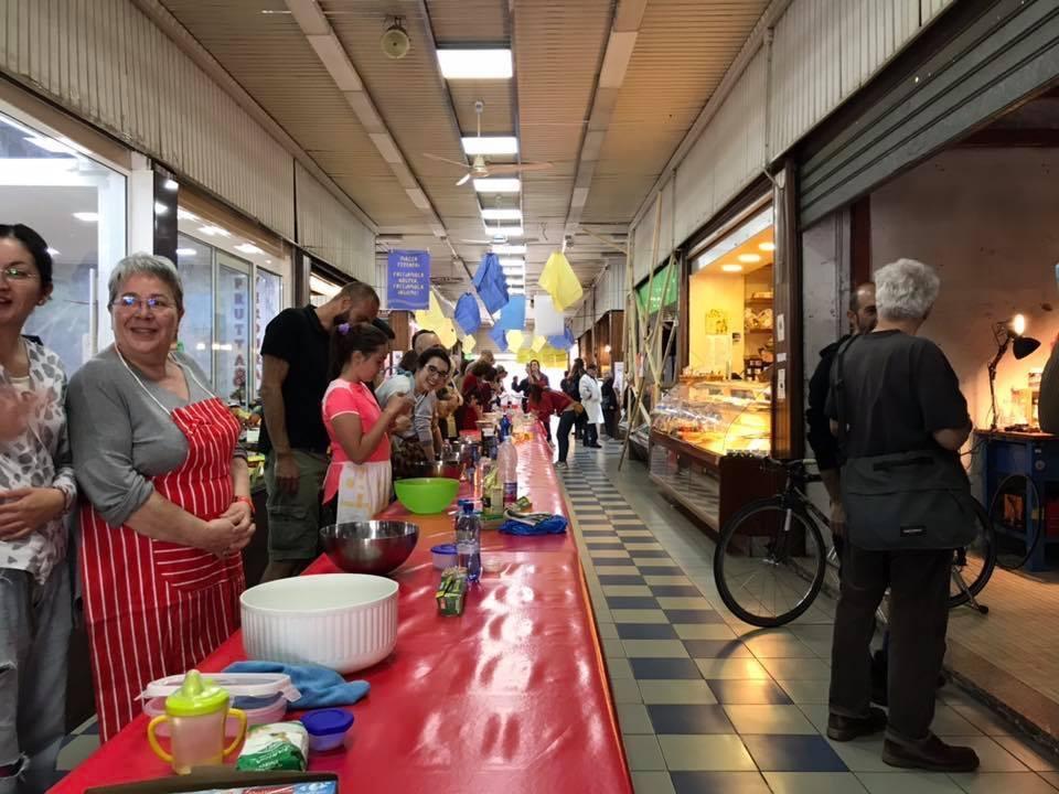 Fare il pane a Milano, al mercato di Corvetto