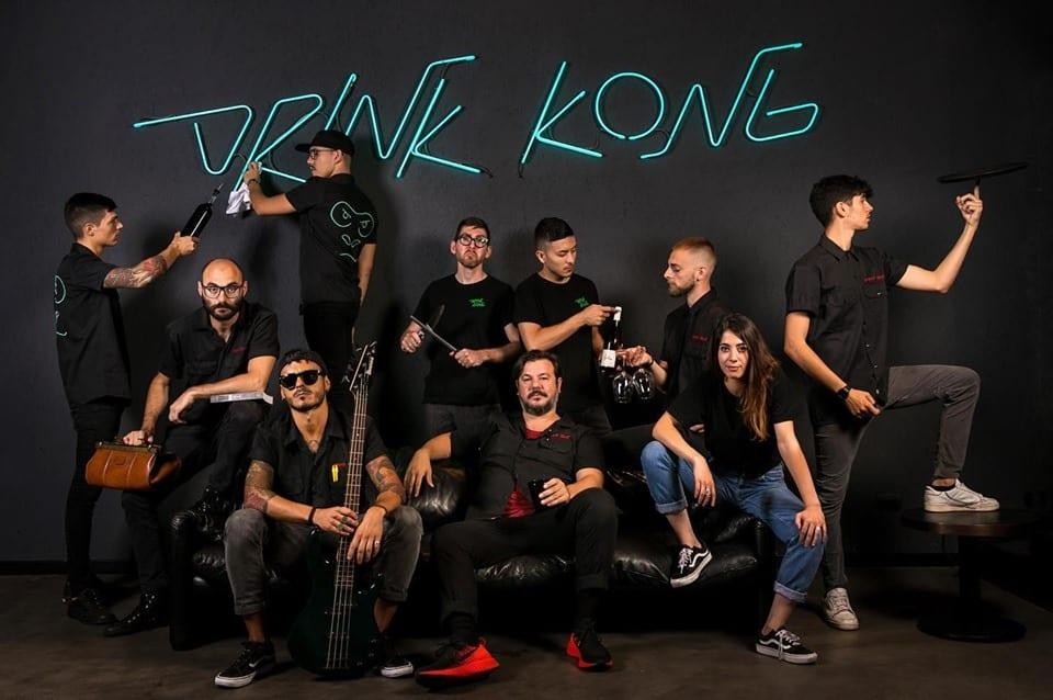 Lo staff di Drink Kong