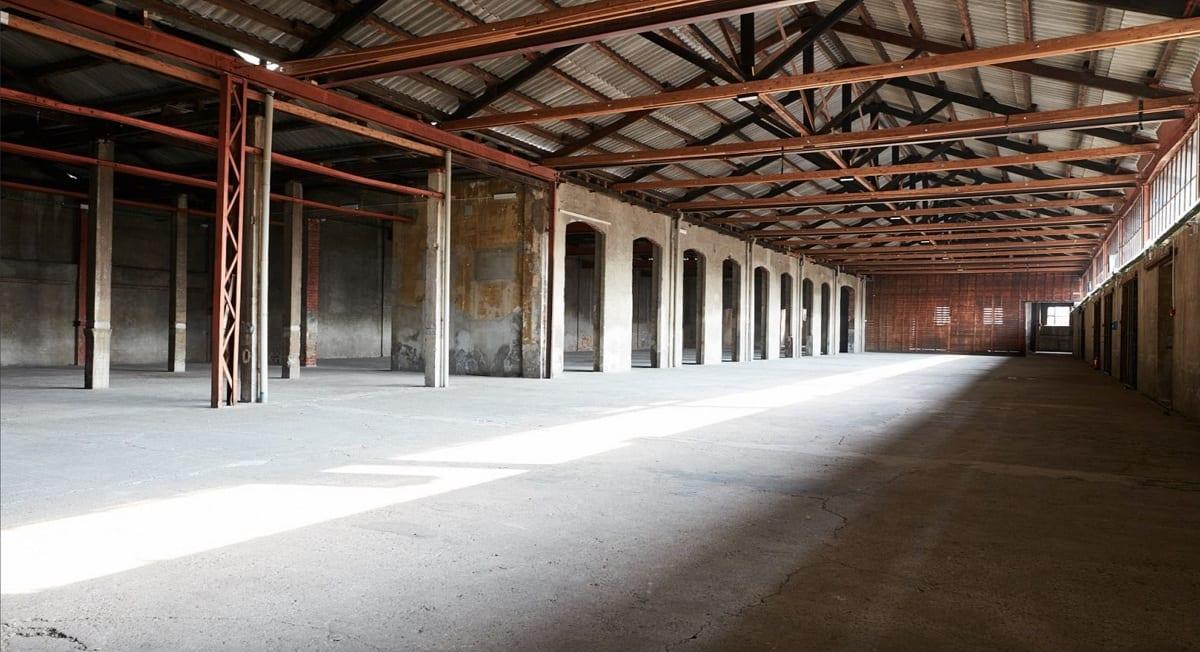 L'interno di Fabbrica Orobia a Milano