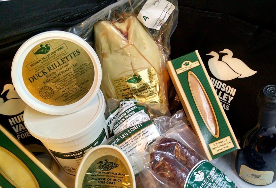 I prodotti a base d'anatra di Hudson Valley Farm