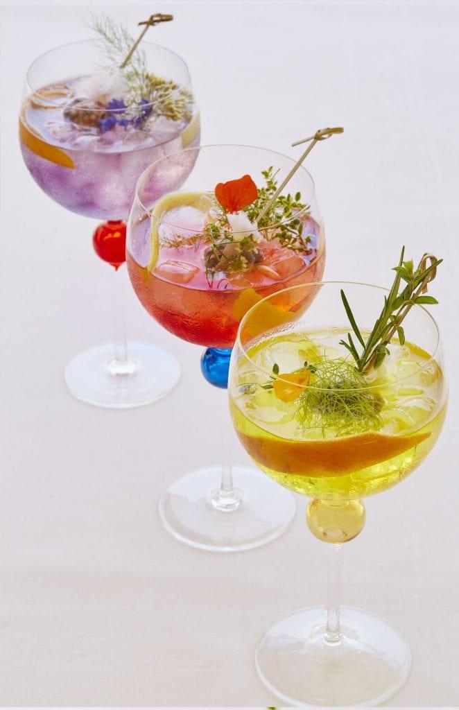 gabbiano bar cipriani rainbow gin tonic