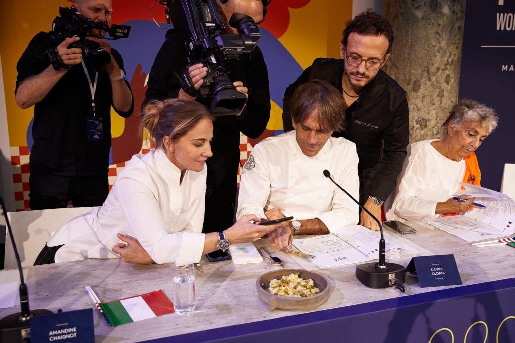 La giuria del Pasta World Championship