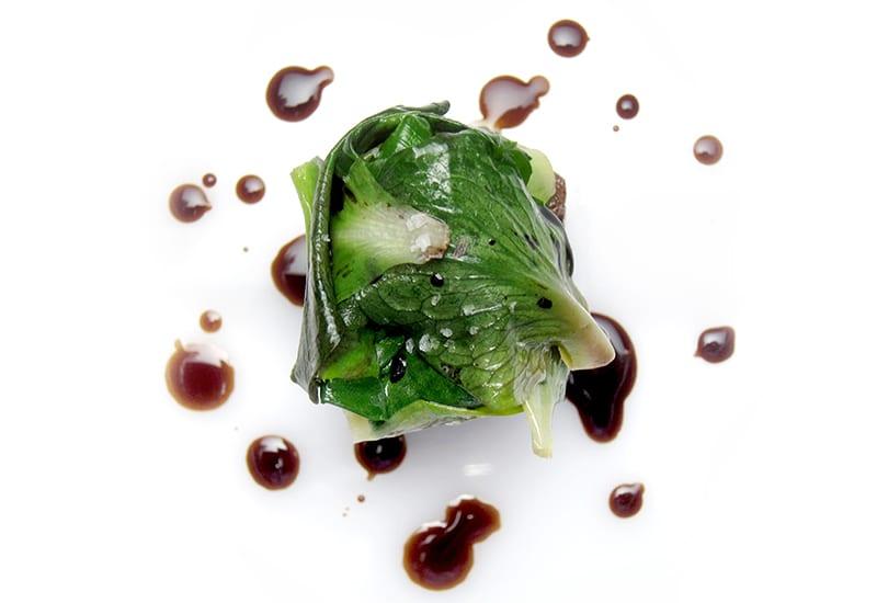 Un piatto vegetale di Trattoria Zappatori