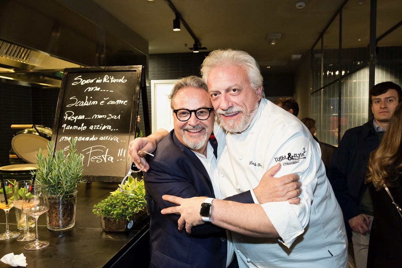 Davide Scabin e Umberto Montano