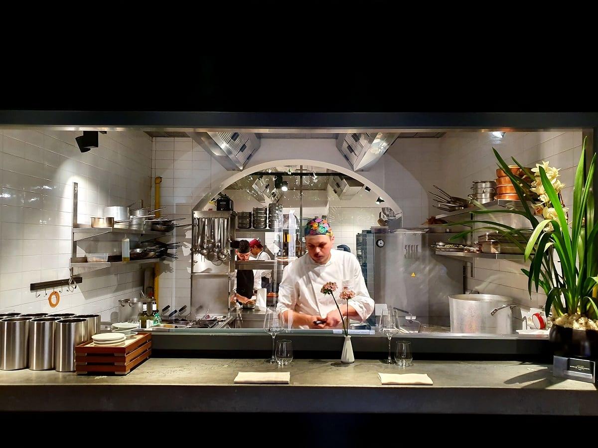 La cucina di Per Me a Roma