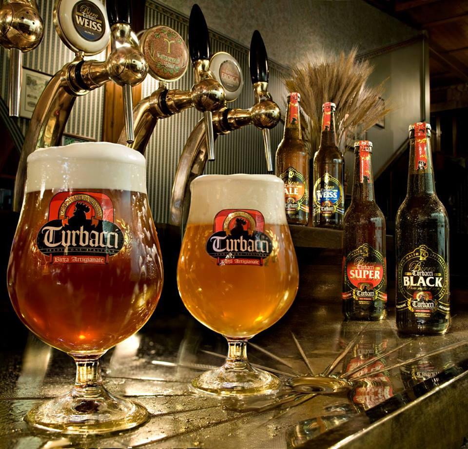 Le birre di Turbacci alla spina