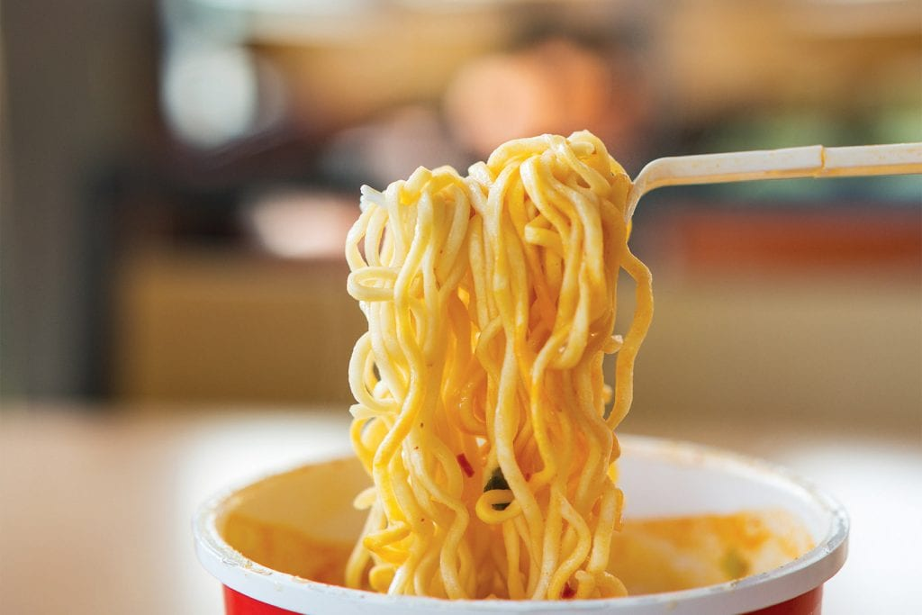 Noodles istantanei