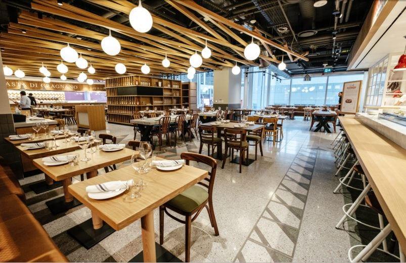 Il ristorante di Eataly a Toronto