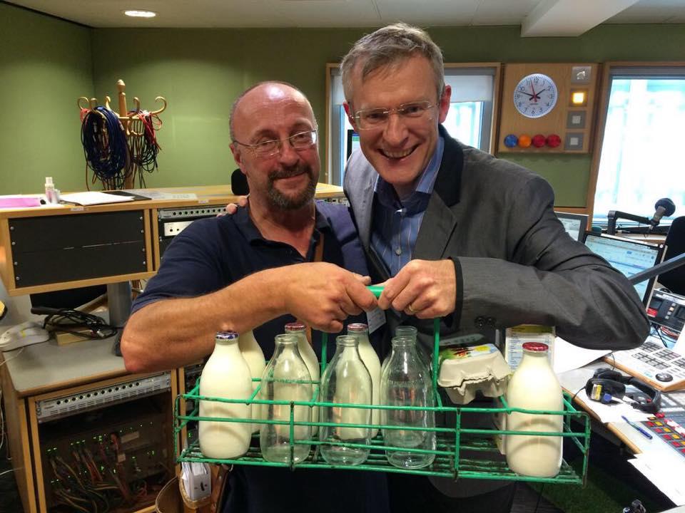 Parker Dairies, latte in vetro