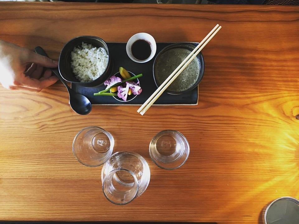 Cibo e sake da Uovotorino