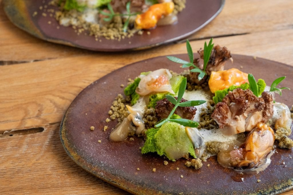 Un piatto di molluschi di Zanze XVI