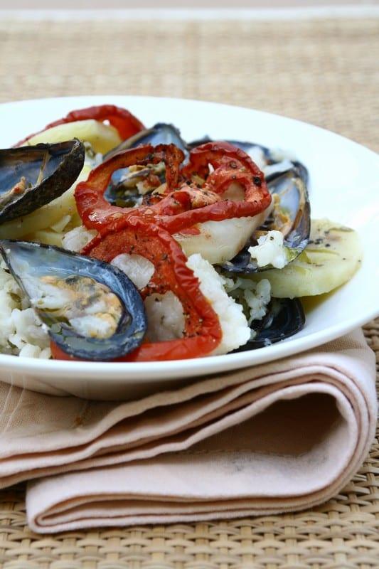 Patate, riso e cozze: uno dei più noti piatti pugliesi