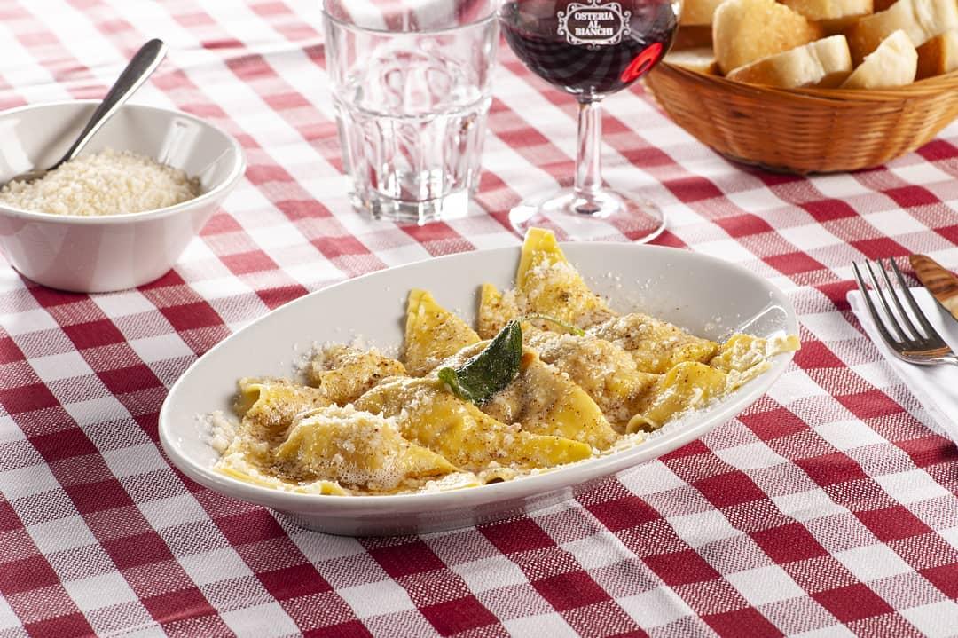 casoncelli, Osteria ai Bianchi