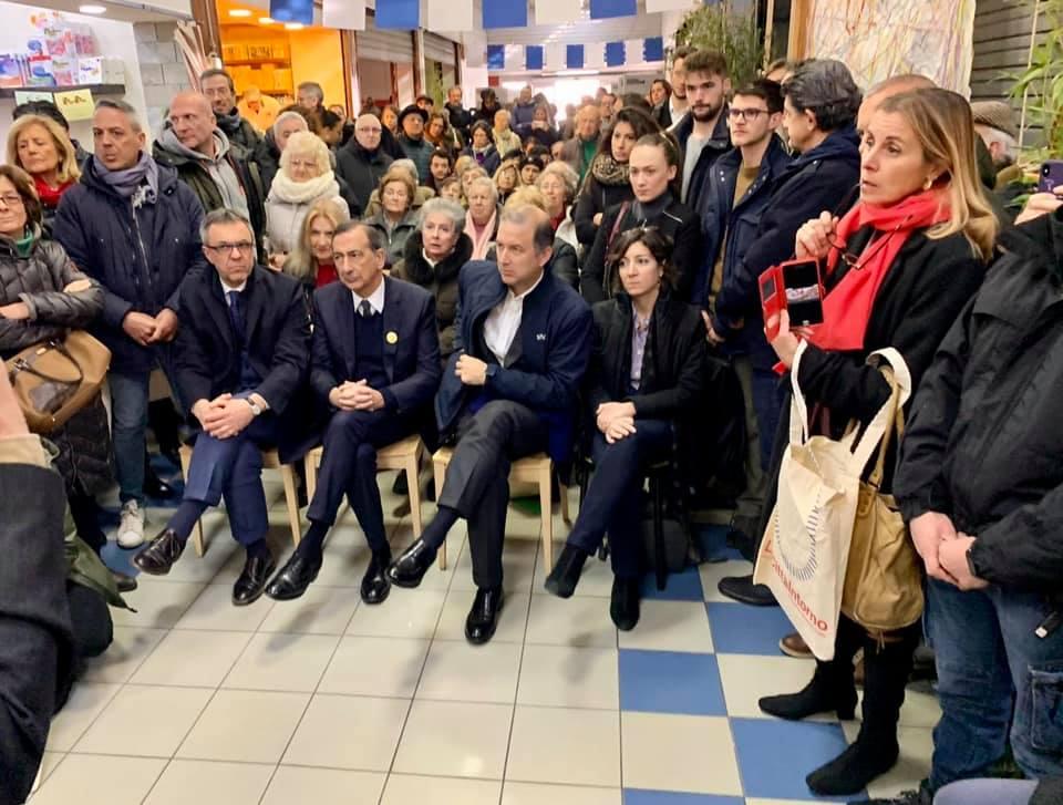 Il sindaco Sala alla presentazione di Made in Corvetto