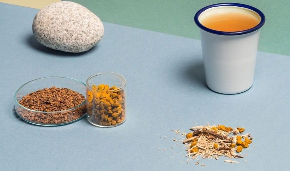 Preparazione di un infuso Wilden, con erbe e spezie