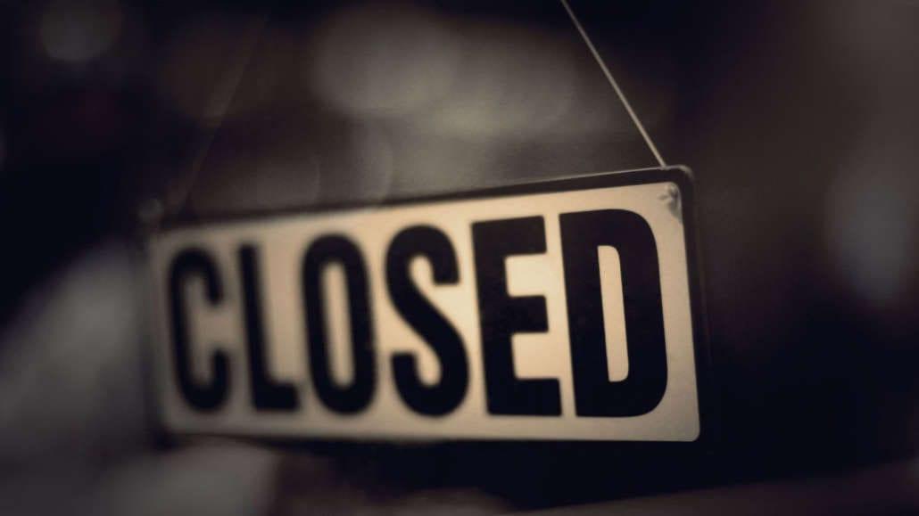 Cartello closed