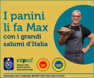 I panini li fa Max con i grandi salumi d'Italia