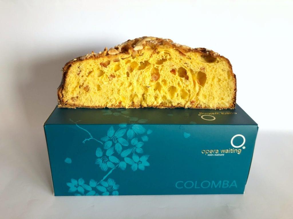 COLOMBA Opera Waiting tagliata