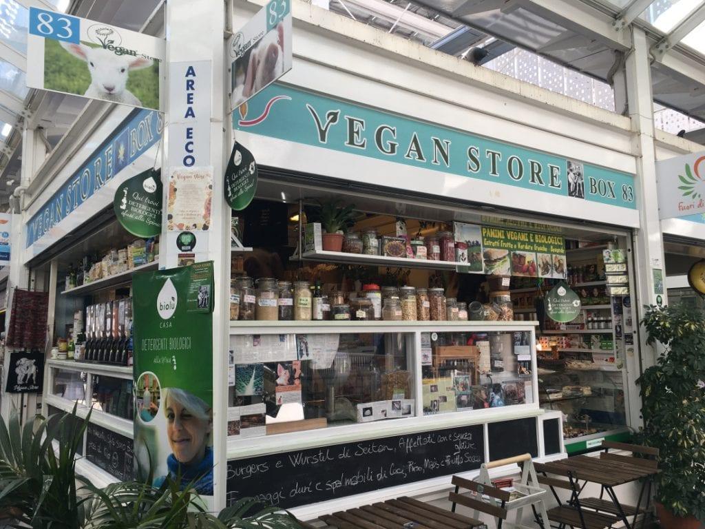Vegan Store, Mercato Testaccio