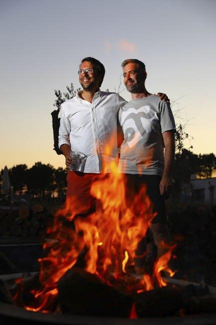 Alexandre Silva col nuovo socio Pedro Franca Pinto