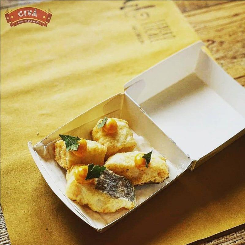 Il baccalà fritto di Civà