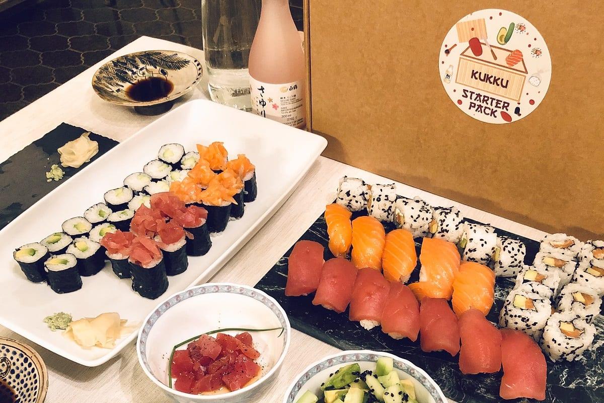 Il sushi di Kukku Riso Sushi