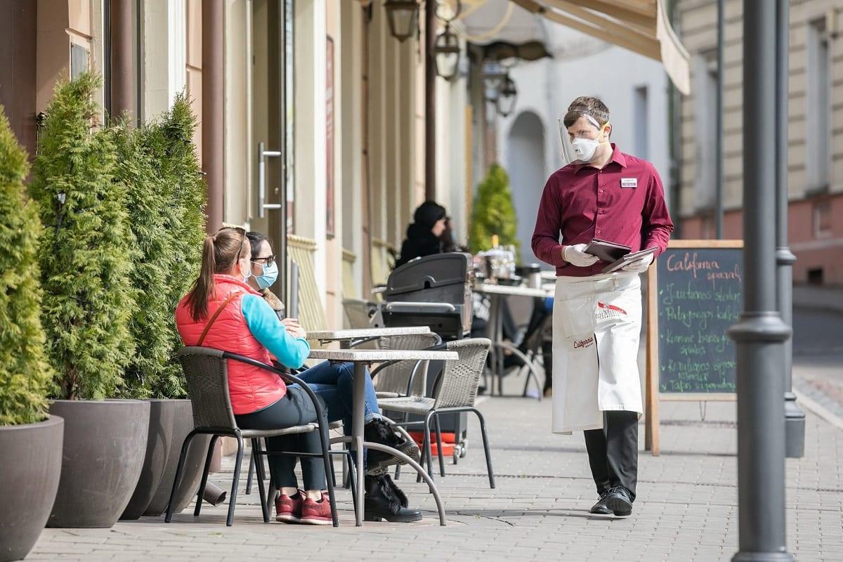 La ripartenza dei ristoranti a Vilnius