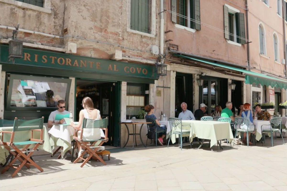 Al Covo - mangiare a Venezia all'aperto