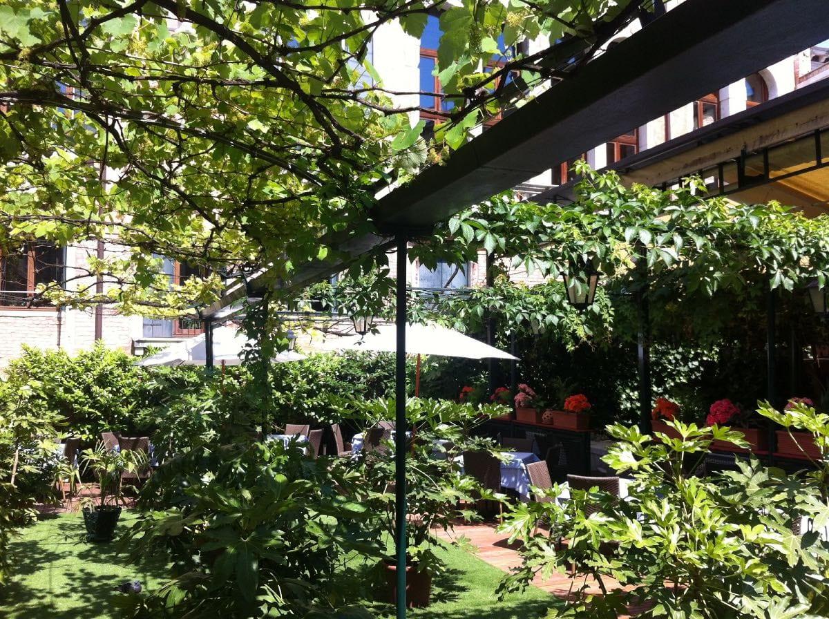 Al Giardinetto da Severino - mangiare a Venezia all'aperto