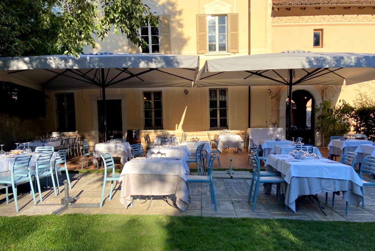 Mangiare all'aperto Brescia Antica Osteria Valle Bresciana